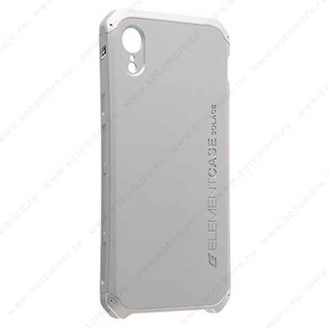 Накладка ELEMENT CASE для iPhone XR серебро