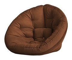 Кресло Farla Lounge Коричневое