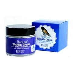 Jigott Bird's Nest Wrinkle Cream - Антивозрастной крем с экстрактом ласточкиного гнезда
