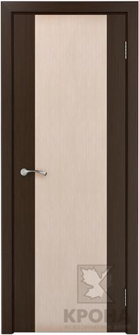 Дверь Крона Элит, цвет беленый дуб, глухая