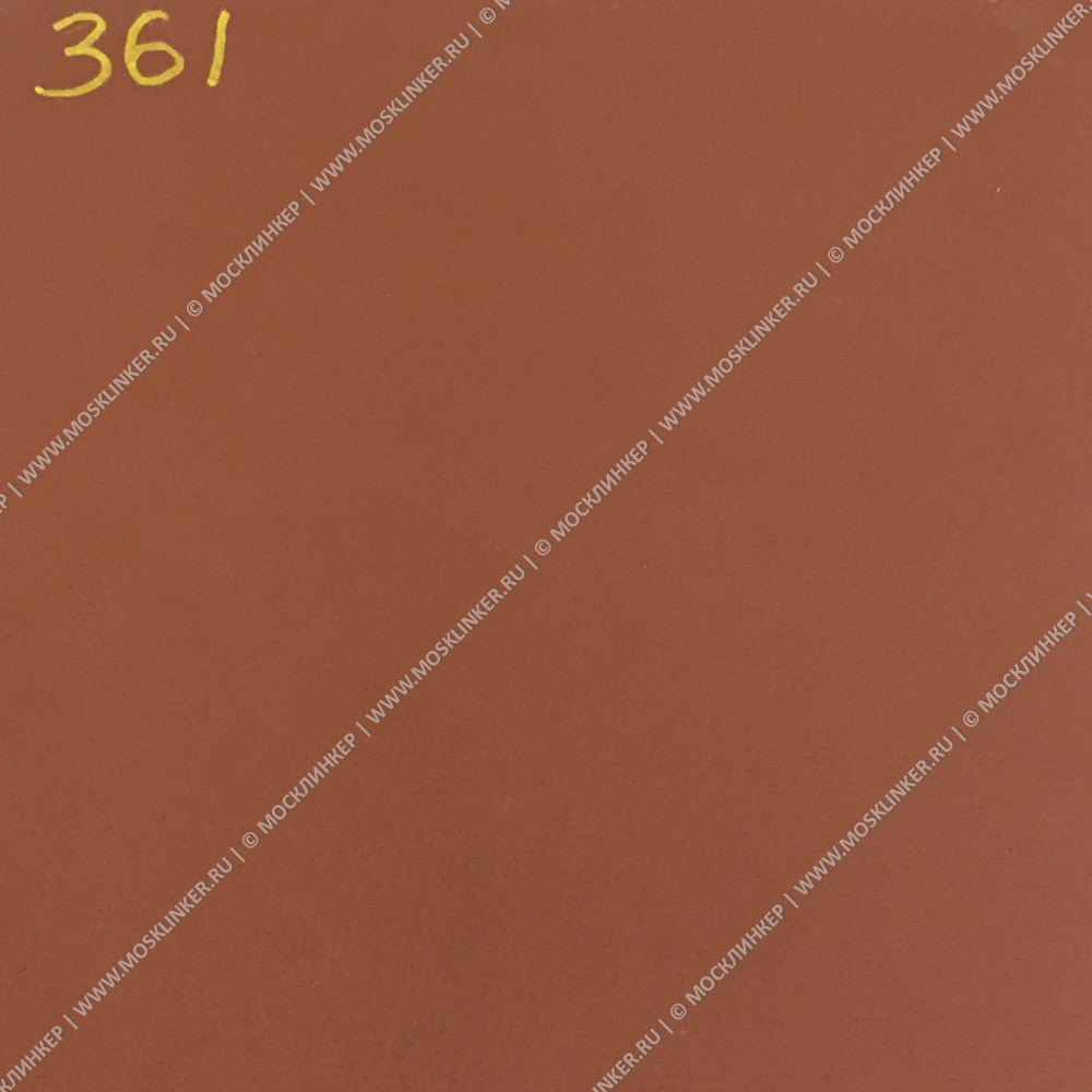Stroeher - Euramic Classics E 361 naturrot 240x240x12 артикул 1610 - Клинкерная напольная плитка