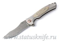 Нож Les George Harpy Full Custom Damascus