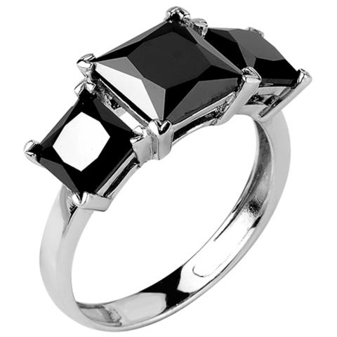 Кольцо из серебра с нано шпинелью Арт.1132н-шпин