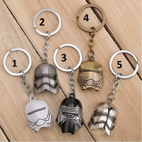 Keychain Star Wars — Kylo Ren and Stormtroopers first Order