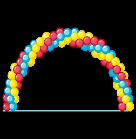 Гирлянда из шаров классическая (Арка на вход)
