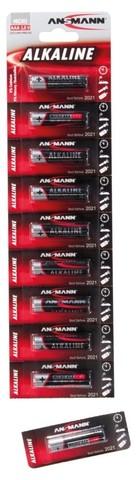 Батарейка Red ААА/ANSMANN 1.5V - 1 шт