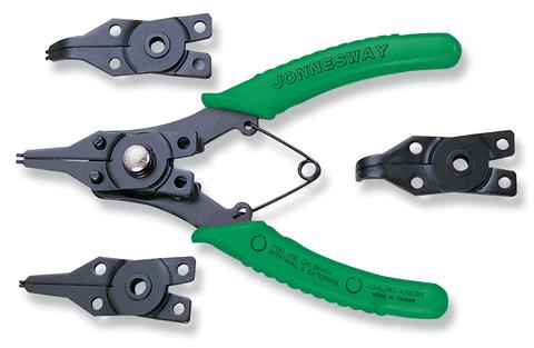 P266 Комплект щипцов для стопорных колец универсальный