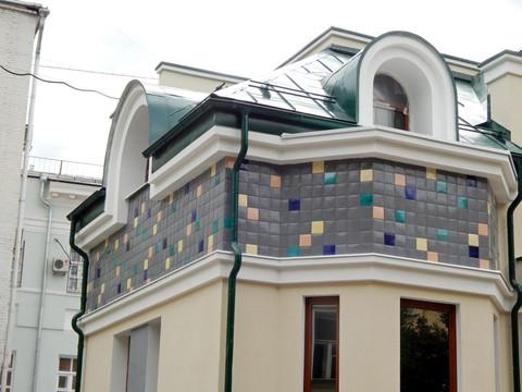 Объемная керамика – вентилируемые фасады из керамики