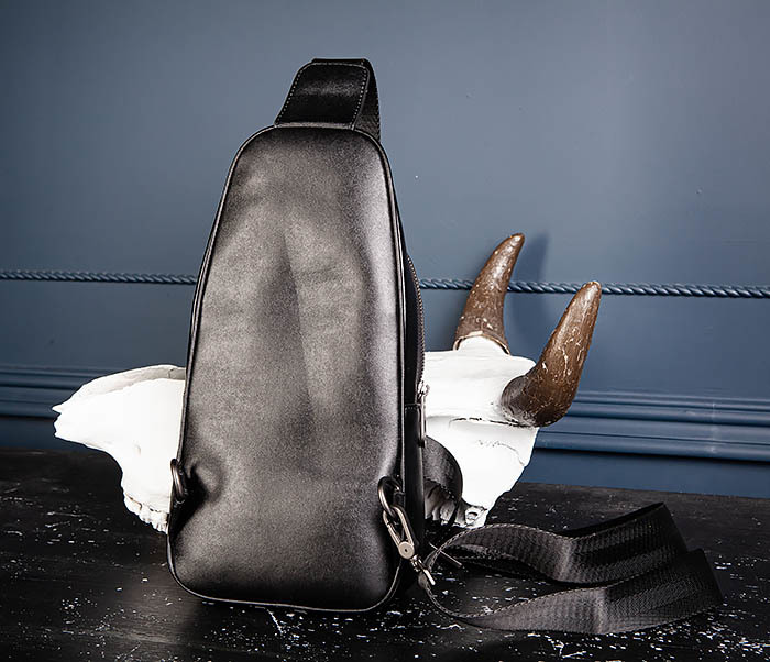BAG537-1 «Плетеная» кожаная сумка через одно плечо фото 09