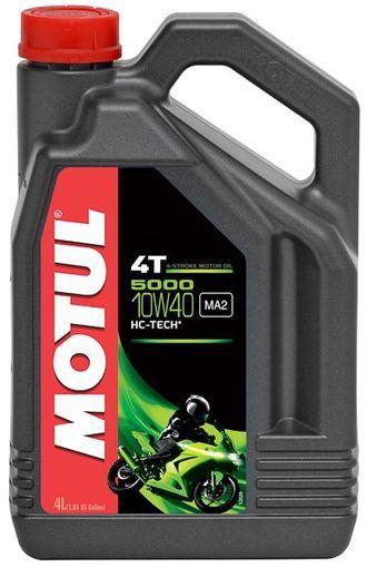 Motul 5000 4T 10W40 Полусинтетическое моторное масло для мотоциклов