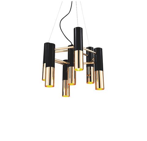 Подвесной светильник копия Ike by Delightfull (7 плафонов)