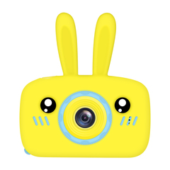 Фотоаппарат детский SmileZoom Зайка 20 Мп / Желтый