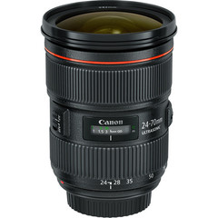 Объектив Canon EF 24-70mm f/2.8L II USM Black для Canon
