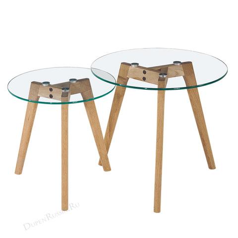 Комплект из двух круглых столиков CT-910