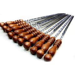 Набор шампуров 6шт с деревянной ручкой, 50см