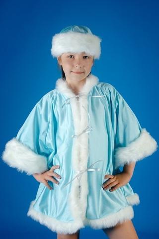 Новогодний костюм Снегурочки 1