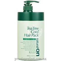 Daeng Gi Meo Ri Naturalon Tea Tree Cool Hair Pack - Натуральная освежающая маска на основе чайного дерева