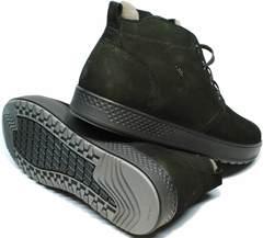 Зимние ботинки без каблука мужские Ikoc 1617-1 WBN.