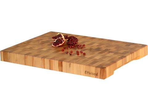 деревянная торцевая разделочная доска из ясеня столярной мастерской EtWood