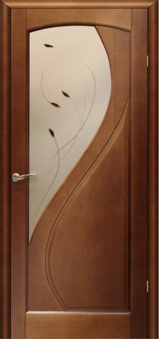 Дверь Танго ПО (светлый анегри, остекленная шпонированная), фабрика LiGa