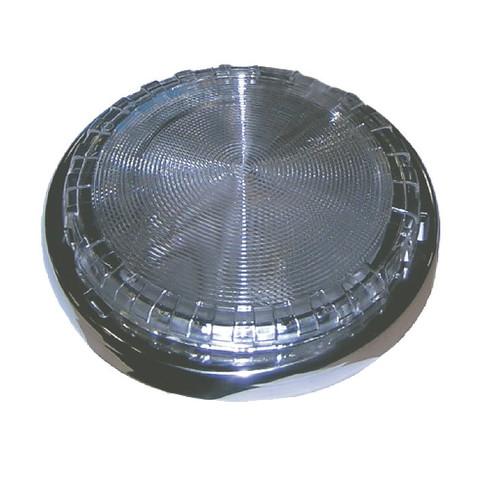 Светильник интерьерный накладной, Ø145 мм, латунь