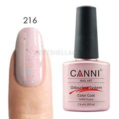 Canni, Гель-лак № 216, 7,3 мл