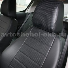 Авточехлы из Экокожи для Volkswagen Caddy (2004-2010)