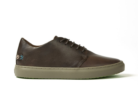 Кеды Satorisan Dalston Memory Dark Brown (152011)