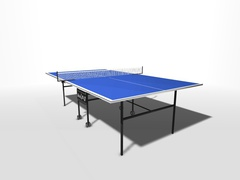 Теннисный стол всепогодный композитный на роликах WIPS СТ-ВКР (61080)