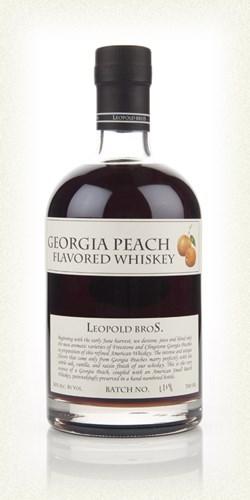 Виски Georgia Peach Flavored  0,7л 40% Леопольд Бразерс с персиковым сиропом