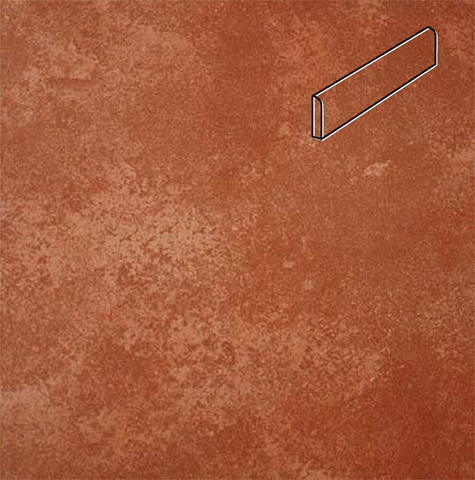 Interbau - Alpen, Kastanie/Красная глина 310x73x8, цвет 059 - Клинкерный плинтус