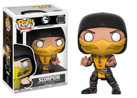 Фигурка Funko POP! Vinyl: Games: Mortal Kombat: Scorpion 21685