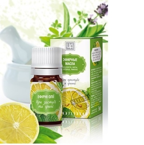 Эфирные масла От простуды и гриппа 5мл