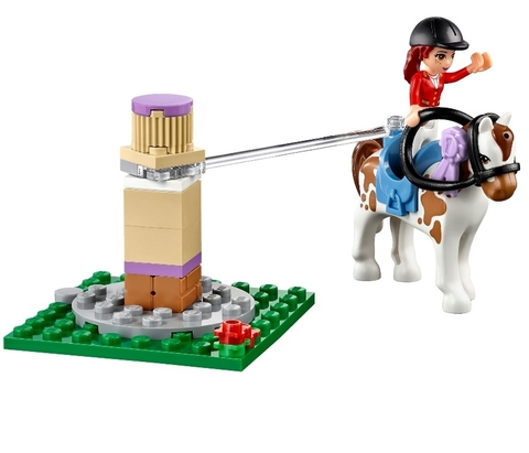 LEGO Friends: Клуб верховой езды 41126 — Heartlake Riding Club — Лего Френдз Подружки