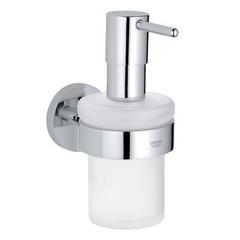 Дозатор жидкого мыла с держателем Grohe Essentials 40448001 фото