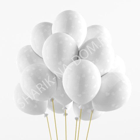 Красивые шары на Свадьбу Шары воздушные Сердца белые Кристалл Воздушные_шары_белые_сердечки_кристалл.jpg
