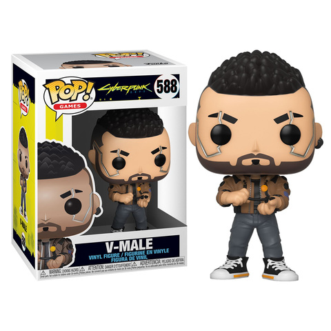 Фигурка Funko Pop! Games: Cyberpunk 2077 - V-Male