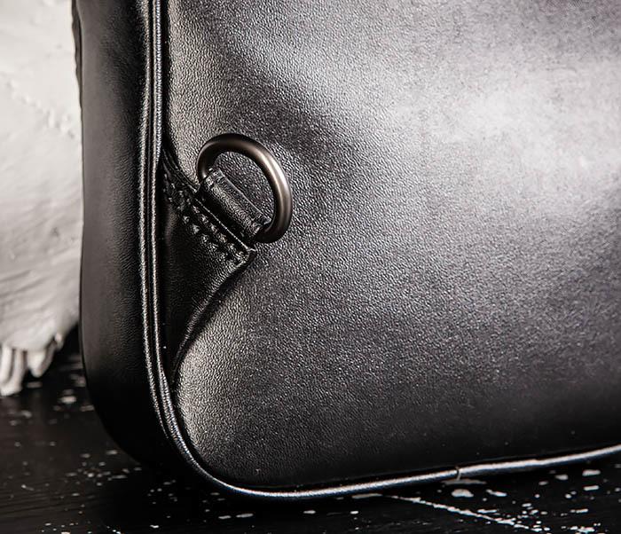 BAG537-1 «Плетеная» кожаная сумка через одно плечо фото 10