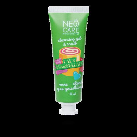 Neo Care Гель-скраб для умывания Lady marmalade, 30мл