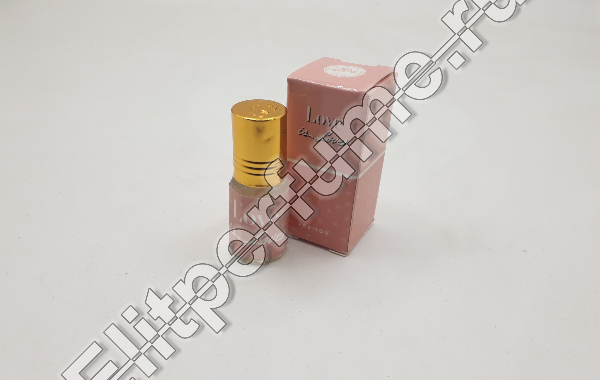 For You Love is love 3 мл арабские масляные духи от Захра Zahra Perfumes