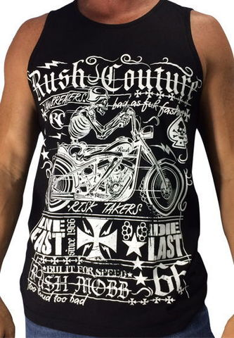 Майка Fast lane  Rush Couture