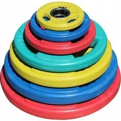Диск олимпийский цветной DY-H-2012-2.5 кг