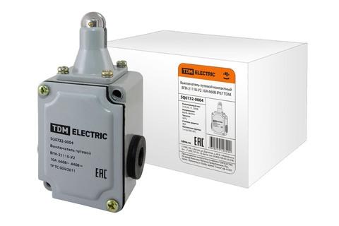 Выключатель путевой контактный ВПК-2111Б-У2 10А 660В IP67 TDM