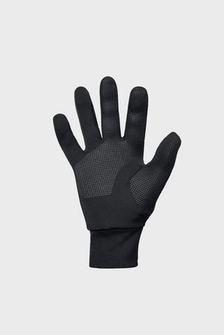 Мужские черные перчатки Mens CGI Run Liner Glove Under Armour