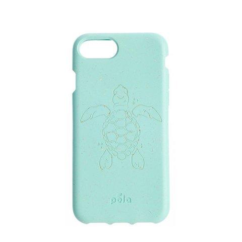 Чехол для телефона PELA IPhone 6/7/8 Ocean Turtle (мятный с черепахой)