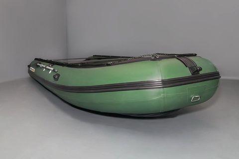 Надувная ПВХ-лодка Солар - 600 Jet Tunnel (зеленый)