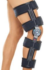Облегченный реабилитационный коленный ортез (брейс) с регулятором - medi rom II cool