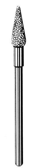 Лабораторные алмазные инструменты «SS WHITE» серия LAB 79/1045 (79/1050) Группа I. Крупная крошка.