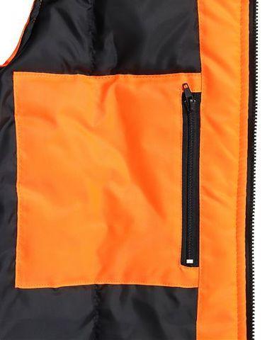 Жилет сигнальный утепленный оранжевый