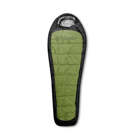 Летний спальный мешок Trimm IMPACT, 195 L (зеленый,красный)